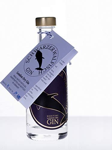 Schwarzer Walfisch Gin 0,1 Liter aus Deutschland