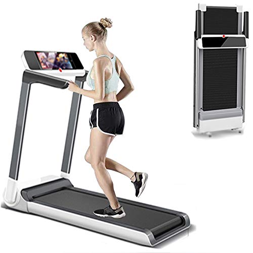YYWE Treadmills for Home 2 in 1 Folding Treadmill, Under Desk Electric Treadmill, Installation-Free, with Bluetooth Speaker, LED Display, Walking Jogging Machine for Home/Office Use Treadmills