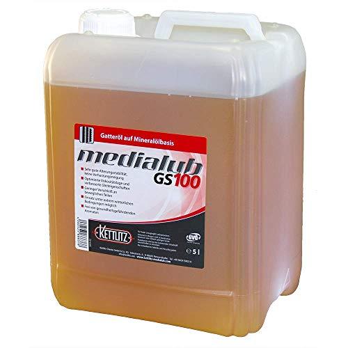 KETTLITZ-Medialub GS100 Gatteröl 5 Liter Kanister - ISO-VG 100