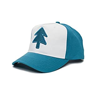 Dipper Aqua Blue Pine Hat Embroidered Adult Curved Baseball Cap