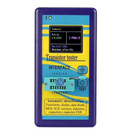TFT Color Display Multifunctional Transistor Tester Diode Thyristor Capacitance Resistor Inductance MOSFET ESR LCR Meter