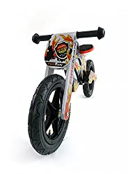 Laufrad in cooler Motorrad Optik