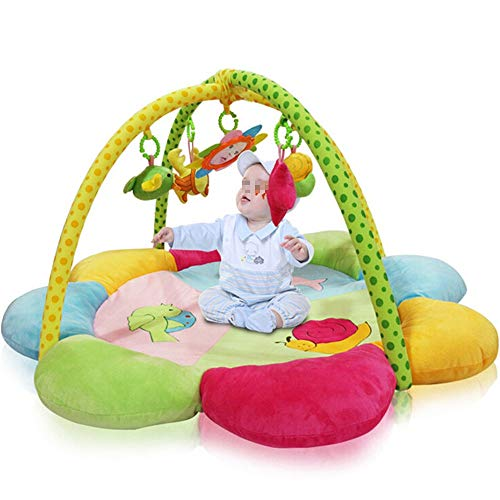 Review Of JIANGXIUQIN Baby Play mat Baby Gym Kick and Fitness Activity Mat for Children & Infants (C...