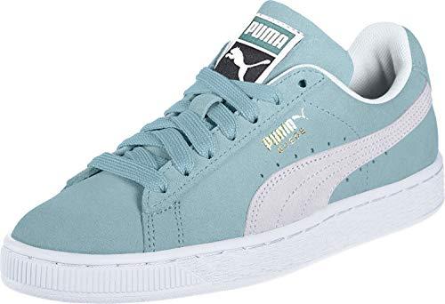 Puma Unisex-Erwachsene Suede Classic Sneaker, Grün (Aquifer White), 36 EU