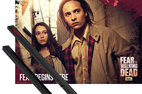 1art1 Fear The Walking Dead Póster (91x61 cm) Fear Starts Here Y...