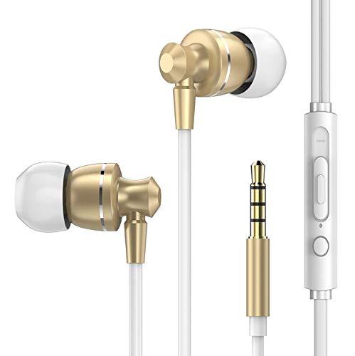 GMZGG Hoofdtelefoon Merk Hoofdtelefoon Muziek Oordopjes Stereo Gaming Oortelefoon Voor Telefoon Xiaomi Met Microfoon, Gemakkelijk te dragen En Geen Ruis