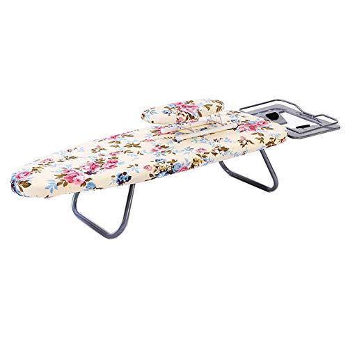 Table à Repasser Table à Repasser Planche à Repasser-Plaque de Fer électrique Chaud vêtements Rack Pliant Bureau Maison Planche à Repasser Table à Repasser 80 * 28 cm CONGMING