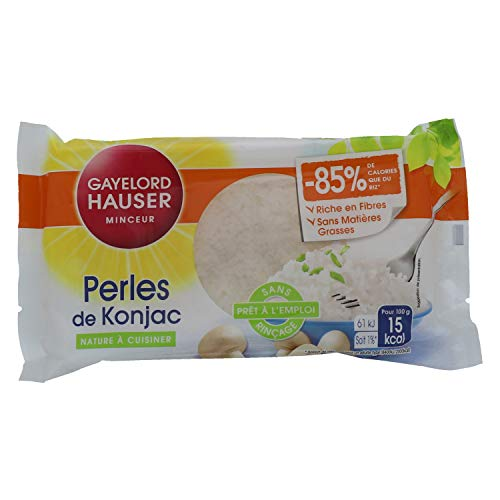 Gayelord Hauser Perles de Konjac - Nature - 160 g - Sans rinçage - Prêt à l'emploi