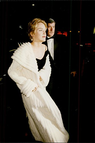 Fotomax Vintage Photo of Sharon Stone Arrives at The Premiere at Alvin Ailey American Dance Theater