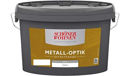 SCHÖNER WOHNEN FARBE Effektfarbe Metalloptik 2,5L gold