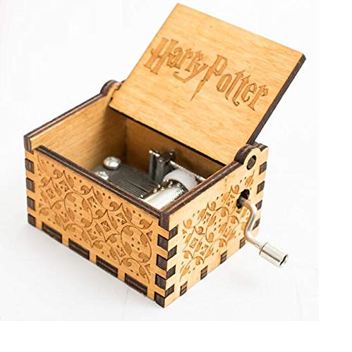 5665 Harry Potter Music Box Wooden Decorative Music Box Harry Potter Hogwarts Music Classic Vintage Gift