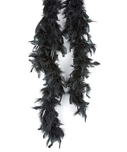 Black Boa for Adults (Accessoire de Costume)
