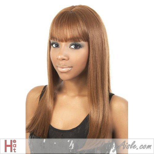Motown Tress (Dubai) - Heat Resistant Fiber Full Wig in 4