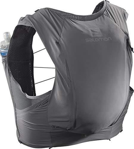 Salomon Sense Pro 10 Set Running Hydration Vest, Quite Shade/Ebony, Small