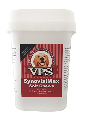 VPS SynovialMax Hip & Joint Soft Chews for Dogs, 240 count
