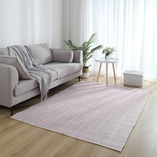 XTUK Home Decor Grau Rosa Blau Teppich Moderner Stil Teppiche Teppich für Wohnzimmer-Soft Touch Home Boden Teppich Große Raumgrößen Teppich Badezimmer Schlafzimmer 140 * 200CM