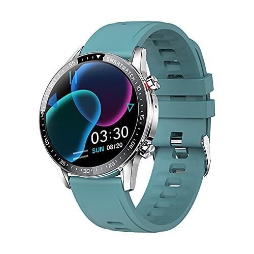 ZGZYL Smart Watch Men's Fitness Tracker Streeter Watch, Bluetooth Call MP3 Bluetooth Smart Watch con Ritmo Cardíaco/Monitoreo del Sueño, Adecuado para iOS Android,C