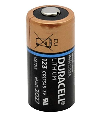 Bulk Pack of 12 Duracell DL123A 3V Lithium 123A Batteries