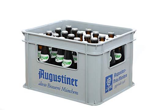 Augustiner Hell Lager Helles Vollbier (18 x 0,33 Liter), Mehrwegflasche