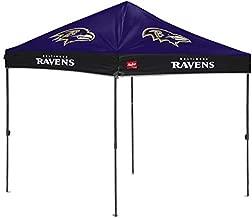 Rawlings NFL 10x10 Straight-Leg Tailgate Canopy, Baltimore Ravens, 2231092111