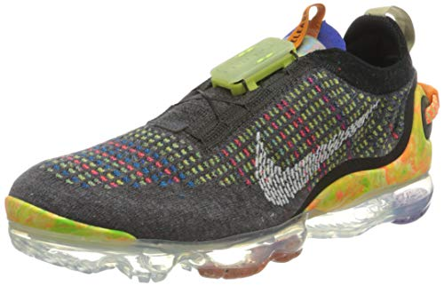 Nike Herren AIR Vapormax 2020 FK Laufschuh, Iron Grey/White-Multi-Color, 42.5 EU