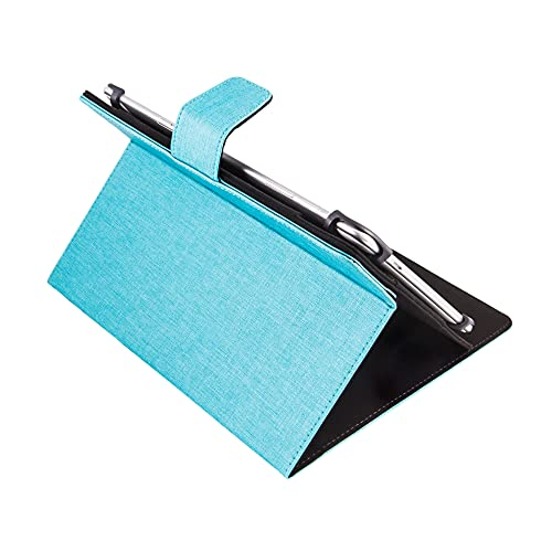 Silver HT - Funda Rotatory 360º para Tablets de 9 a 10, 1 Pulgadas, Azul
