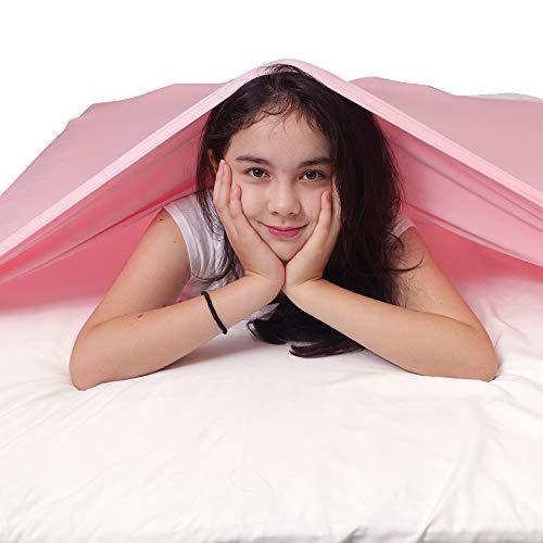 Kompressions-Bettlaken für Sinlgle Matratze – fester Druck für Beruhigung und Entspannung des Schlafes – Alternative zu schweren Decken – dehnbar, atmungsaktiv