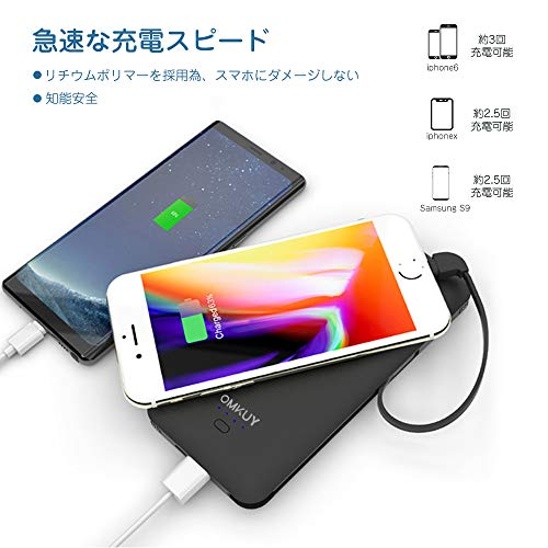 OMKUY『モバイルバッテリー10,000mAh(PB147AC)』