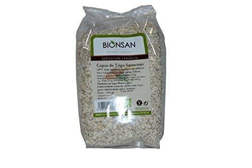 Bionsan - Flocons de Sarrasin Bio sans Additifs, 500 g