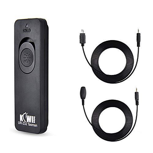 Kiwifotos MC-DC2 Remote Switch Shutter Release Cord for Nikon Z7 Z7II Z6 Z6II Z5 D750 D780 P1000 D7500 D7200 D5600 D5500 D5300 D5200 D5100 D5000 D3300 D3200 D7000 D7100 D610 D600 & More Nikon Camera