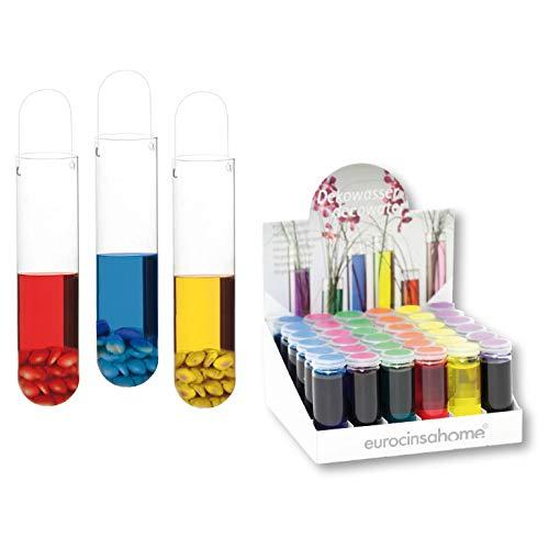 EUROCINSA Ref.55448 display met 36 flessen (verschillende kleuren), doos met 1 stuk, meerkleurig, 16 x 16 x 8 cm