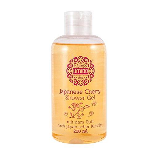 1x UMIDO Duschgel 200 ml Japanische Kirsche | Waschgel für Körper, Gesicht und Haare | sanfte Pflegedusche | Körperpflege (4-KPF)
