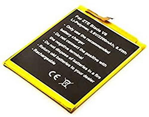 Batería para ZTE Blade V6, polímero de Litio, 3,8 V, 2200 mAh, 8,4 WH, sin Herramientas