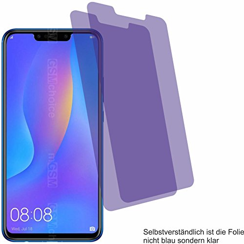 4ProTec I 2X ANTIREFLEX matt Schutzfolie für Huawei Nova 3i Bildschirmschutzfolie Displayschutzfolie Schutzhülle Bildschirmschutz Bildschirmfolie Folie