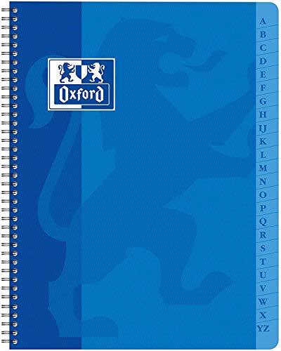 Oxford 100101192, Agenda Directorio con Espiral, 17 x 22 cm,...