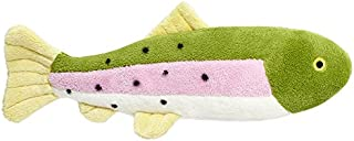 Fluff & Tuff Burt The Lake Trout Dog Toy