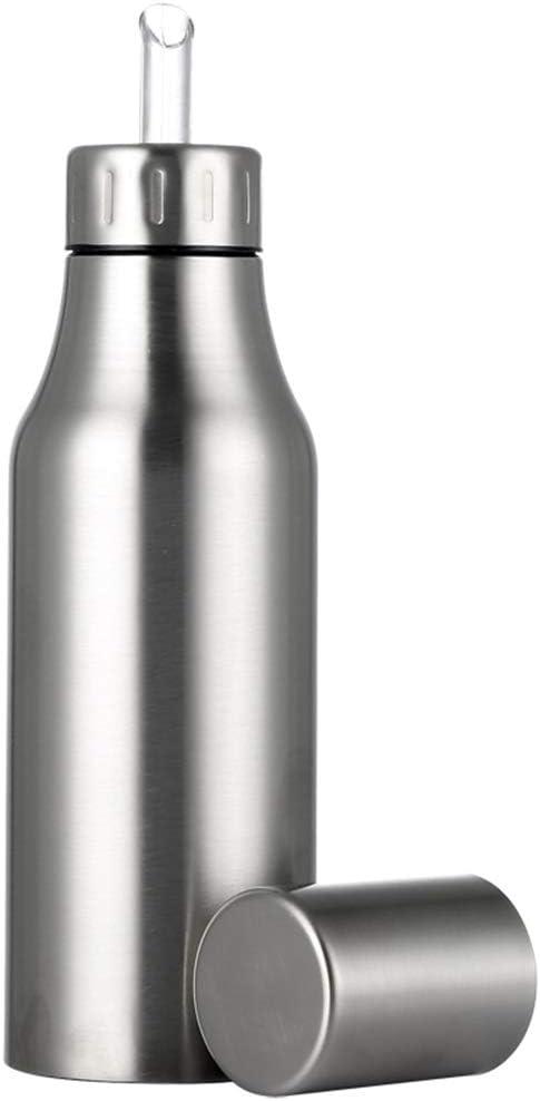 Oil Vinegar Dispenser Free shipping Cruet Pourer Steel Dispens Stainless Spring new work