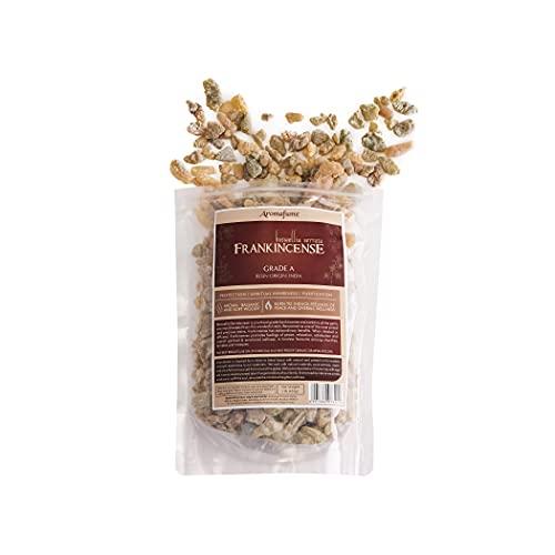 Frankincense Resin 1lb (453 g)   Natural Premium Resin Incense   Church Incense   Gum Olibanum   Boswellia Serrata   Frankincense Tears   Pure Frankincense Granules   AA Grade