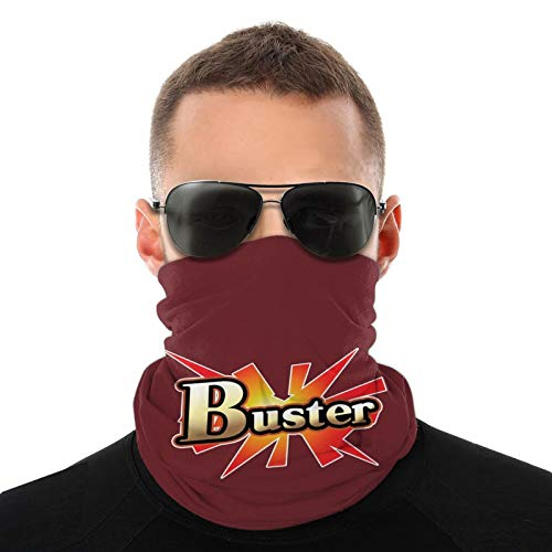 N Fate Grand Order Buster Headwear Variété Bandeau Foulard Tour de Cou Protection UV / Poussière Réutilisable Extensible pour Sport Extérieur Cyclisme Moto