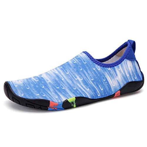 Ydtzf - Zapatos de verano para mujer y hombre, zapatos de senderismo y agua de secado rápido, zapatos de agua descalzos (talla 29)
