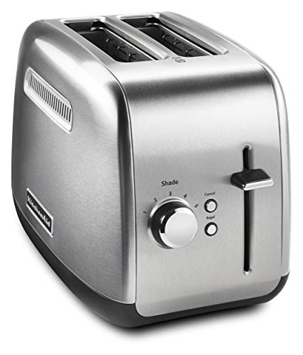 KitchenAid KMT2115SX Stainless Steel Toaster, Brushed Stainless Steel (Renewed)