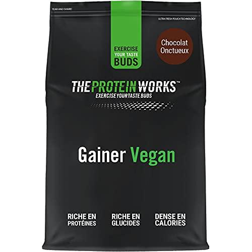 THE PROTEIN WORKS Vegan Mass Gainer | 100% a Base de Plantas | Alto en Calorías Para el Aumento de...
