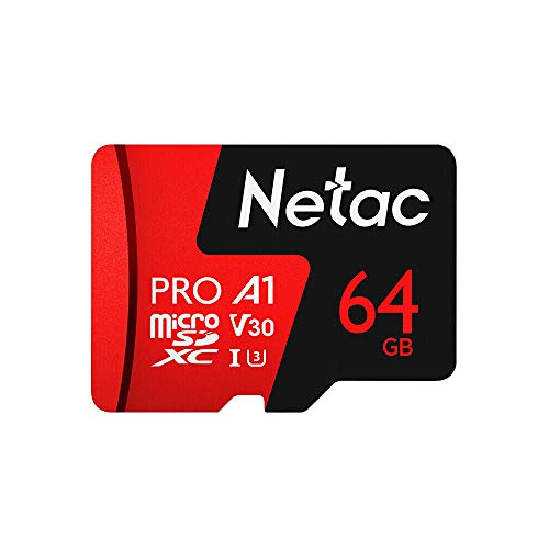Docooler Netac 128 GB / 64 GB Pro 40M Micro SDXC TF Karte Speicherkarte Datenspeicherung V30 / UHS-I U3 Hohe Geschwindigkeit bis zu 98MB / s