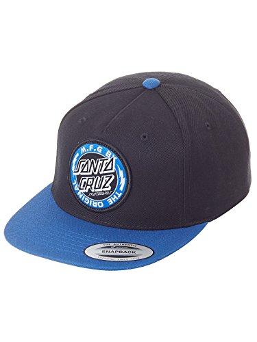 Santa Cruz - Gorra Hombre Voltage Colour - Black/Strong Blue