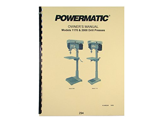 Top 10 best selling list for powermatic 2000 drill press