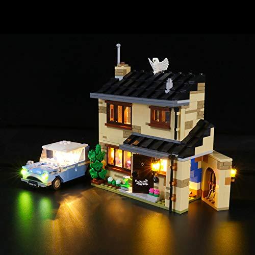 iCUANUTY Kit de Iluminación LED para Lego 75968, Kit de Luces Compatible con Lego Harry Potter Número 4 de Privet Drive Set (No Incluye Modelo Lego)