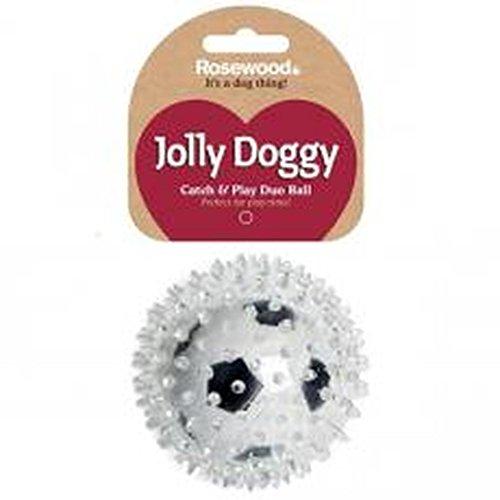 Jolly Doggy Catch & Play Football 8cm (3Stück)
