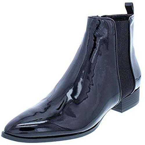 DKNY Frauen Talie Spitzenschuhe Fashion Stiefel Schwarz Groesse 5 US /35.5 EU