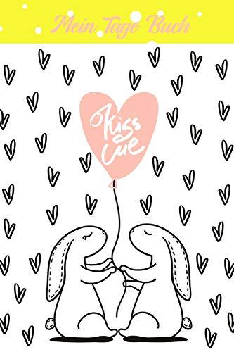 Kiss me - Mein Tage Buch: Dein Periodenkalender für 12 Monate | behalten deinen Zyklus im Blick | Zykluskalender | Menstruationskalender für Mädchen und Frauen