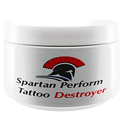 Tattoo Removal Cream Natural Fading system wrecking balm 2 week spartan perform 6 glove